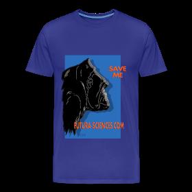 Save Gorille homme bleu royal ~ 1850