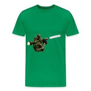Javelin Balloon - Men's Premium T-Shirt