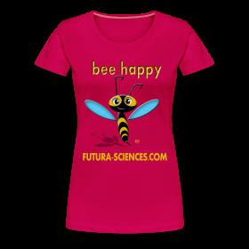 Bee Happy femme rose ~ 1854