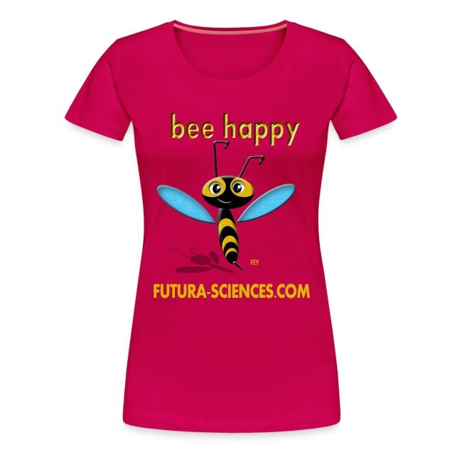 Bee Happy femme rose