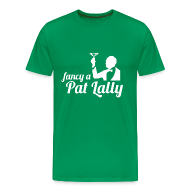 T-Shirts ~ Men's Premium T-Shirt ~ Fancy a Pat Lally