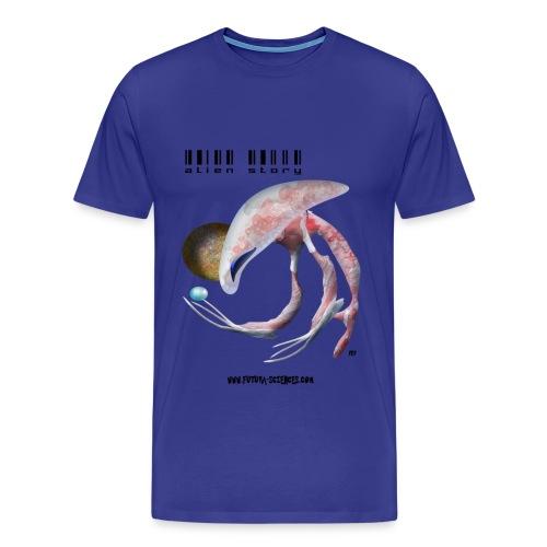 Alien medusa homme bleu ciel - T-shirt Premium Homme