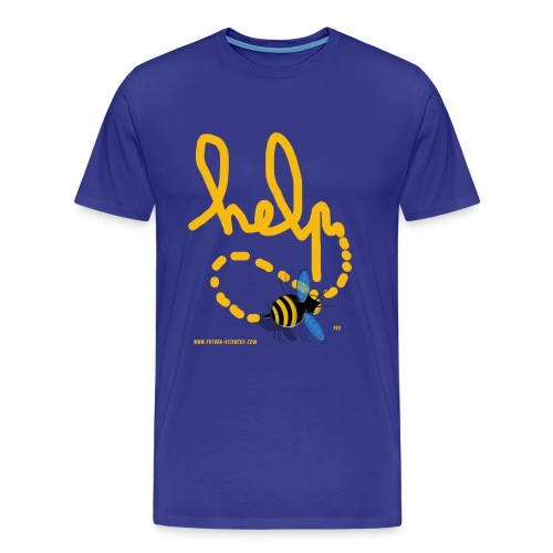 Help homme bleu royal - T-shirt Premium Homme