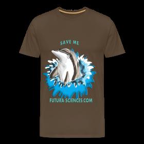 Save dauphin homme marron ~ 1850