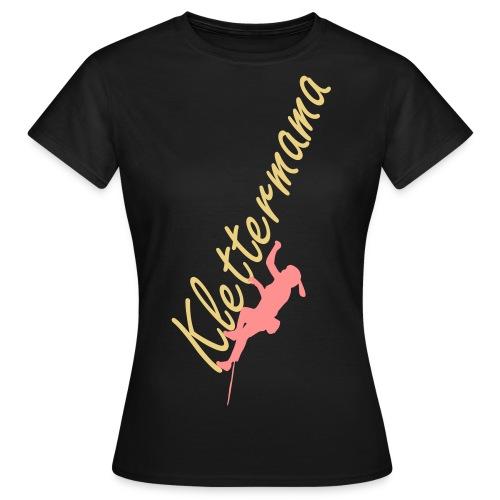 Girlieshirt - Klettermama - Frauen T-Shirt