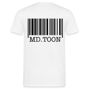 MD.TOON's code barre - T-shirt Homme