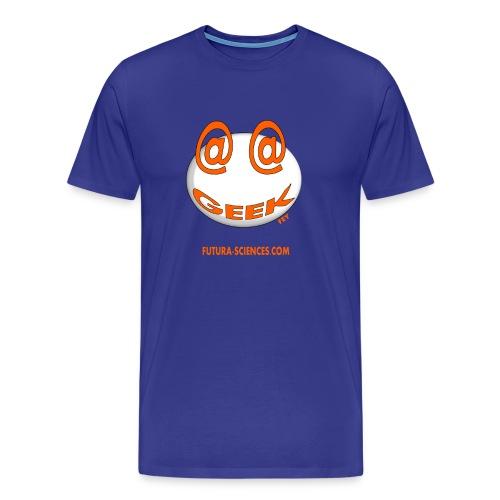 Geek homme bleu royal - T-shirt Premium Homme