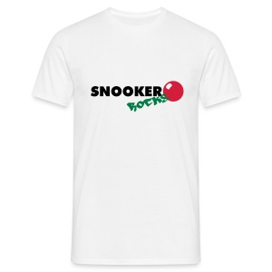 snooker rocks shirt - Männer T-Shirt