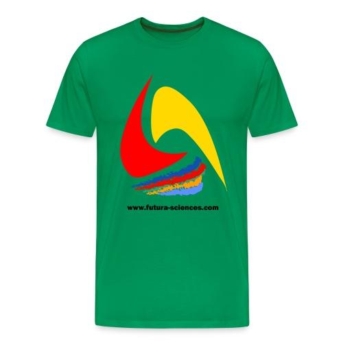 Futura-Sciences homme kaki - T-shirt Premium Homme