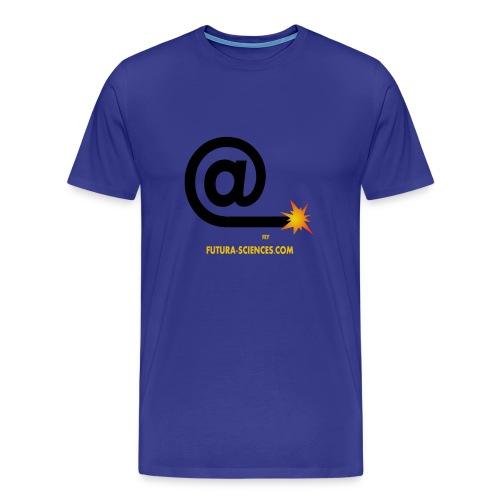 Arobase homme bleu royal - T-shirt Premium Homme