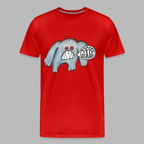 with added GRRRR!!! - Men's Premium T-Shirt