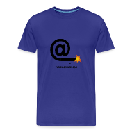 Tee shirts ~ Tee shirt Premium Homme ~ Arobase homme bleu ciel