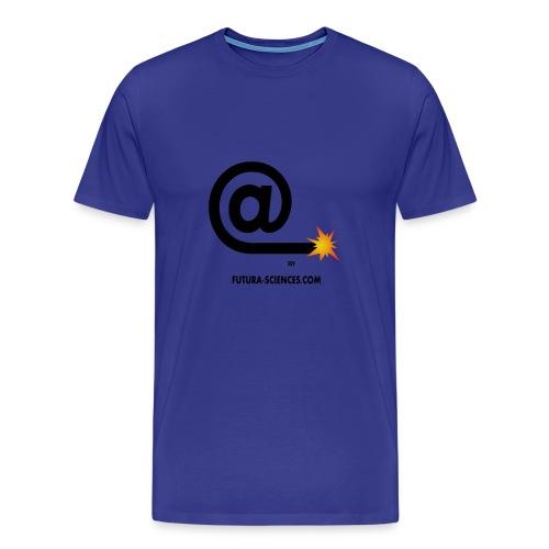 Arobase homme bleu ciel - T-shirt Premium Homme