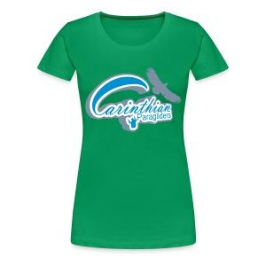 Carinthian-Paragliders - Frauen Premium T-Shirt