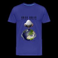 Tee shirts ~ T-shirt Premium Homme ~ Alien story homme bleu ciel