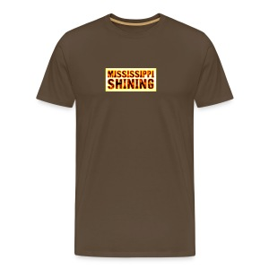 Mississippi Shining glow - T-shirt Premium Homme