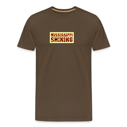 Mississippi Shining glow - T-shirt Premium Homme
