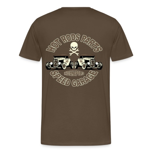 hot rods parts t-shirt - Men's Premium T-Shirt
