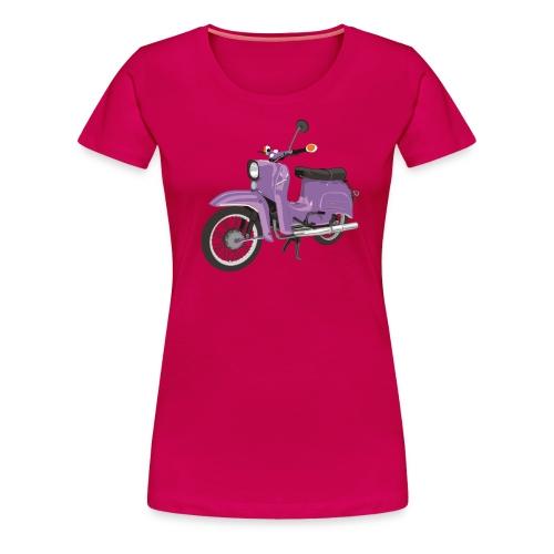 SchwalbeFlieder - Frauen Premium T-Shirt