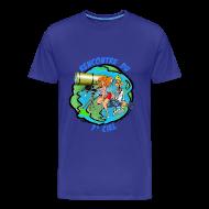 Tee shirts ~ T-shirt Premium Homme ~ 7ème ciel homme bleu royal