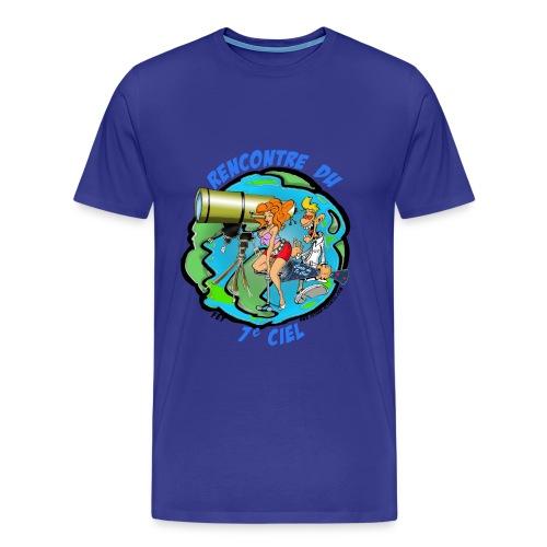 7ème ciel homme bleu royal - T-shirt Premium Homme