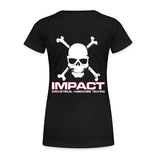Impact Women's Girlie Tshirt (Text Front) - Women's Premium T-Shirt