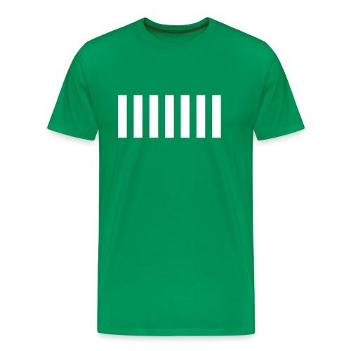 Camiseta Trece Barras para Hombre - Camiseta premium hombre