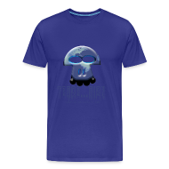 Tee shirts ~ T-shirt Premium Homme ~ Terrien homme bleu ciel
