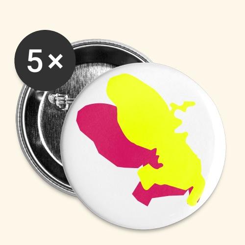 Martinique badge - Badge moyen 32 mm