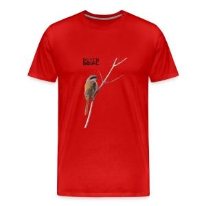 Langstaartklauwier Mannen T-shirt  - Mannen Premium T-shirt