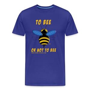 To bee homme bleu marine - T-shirt Premium Homme