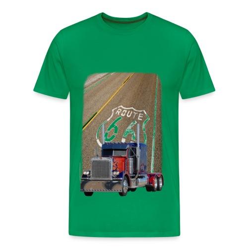 bluered_truck - Männer Premium T-Shirt