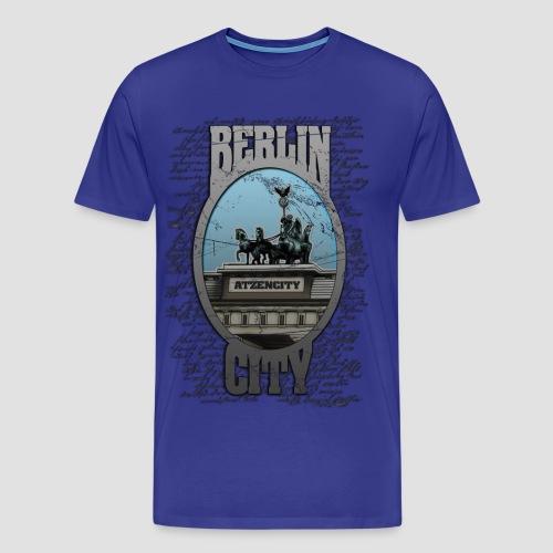 BERLIN CITY ATZENCITY Tshirt Männer - Männer Premium T-Shirt