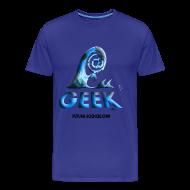 Tee shirts ~ T-shirt Premium Homme ~ Geekwave homme bleu-bleu