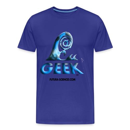 Geekwave homme bleu-bleu - T-shirt Premium Homme