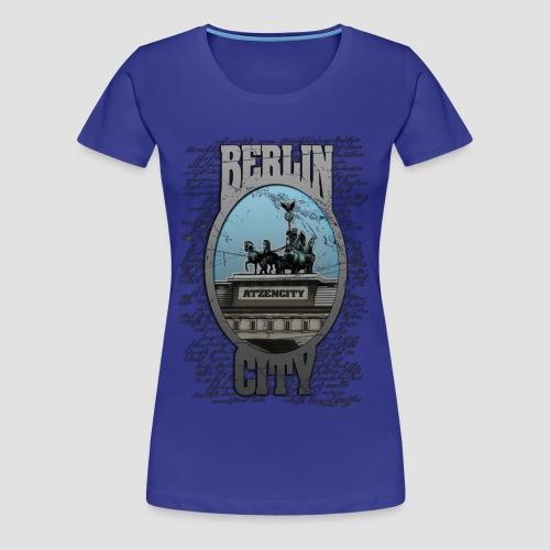 BERLIN CITY ATZENCITY Tshirt Frauen - Frauen Premium T-Shirt