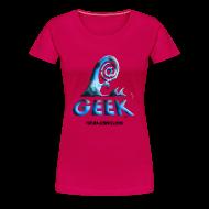 Tee shirts ~ T-shirt Premium Femme ~ Geekwave femme rougerubis-bleu