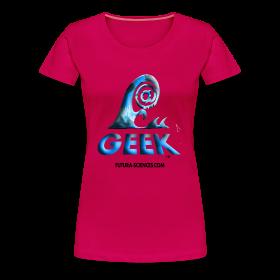 Geekwave femme rougerubis-bleu ~ 1854