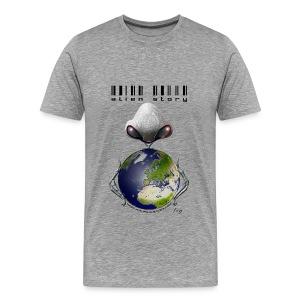 Alien story homme gris - T-shirt Premium Homme