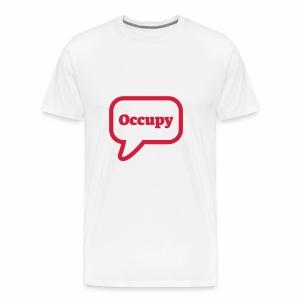 Occupy - Männer Premium T-Shirt