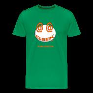 Tee shirts ~ Tee shirt Premium Homme ~ Geek homme bleu vert bouteille