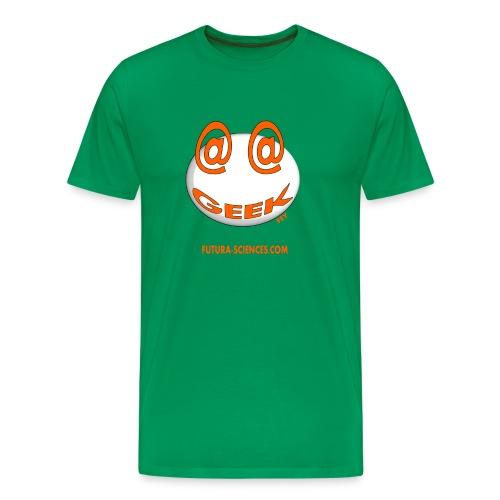 Geek homme bleu vert bouteille - T-shirt Premium Homme
