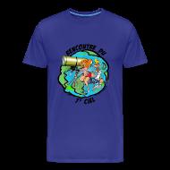 Tee shirts ~ Tee shirt Premium Homme ~ 7ème ciel homme bleu ciel