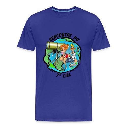 7ème ciel homme bleu ciel - T-shirt Premium Homme