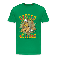 Tee shirts ~ T-shirt Premium Homme ~ Etoile filante homme vert bouteille
