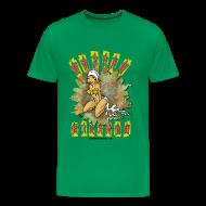 Tee shirts ~ Tee shirt Premium Homme ~ Etoile filante homme vert bouteille