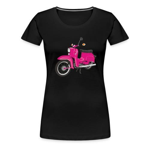 Schwalbe pink - Frauen Premium T-Shirt
