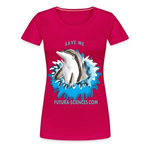 Save dauphin femme rubis - T-shirt Premium Femme