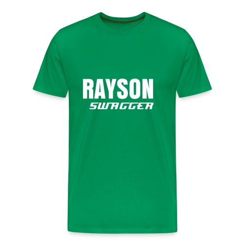 Rayson Swagger - Green Tee - Mannen Premium T-shirt