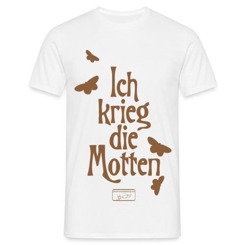 Männer T-Shirt - Motten